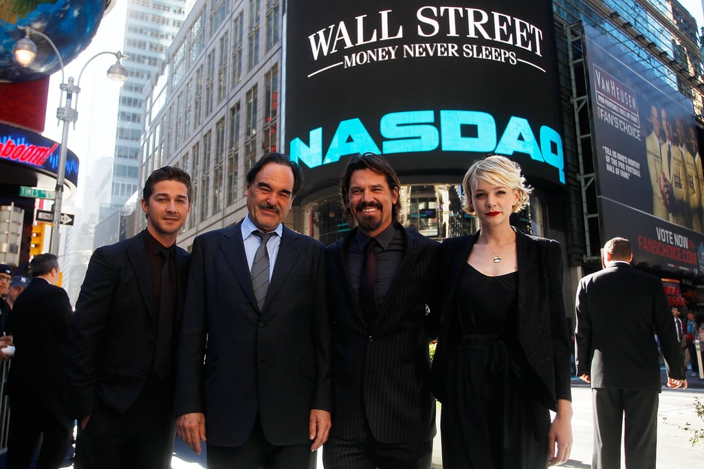 Carey Mulligan and Shia LaBeouf Promoting Wall Street 2 in New York