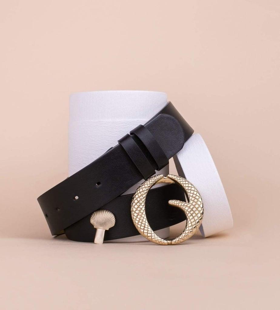 Clinch Belt Brass Buckle Belt
