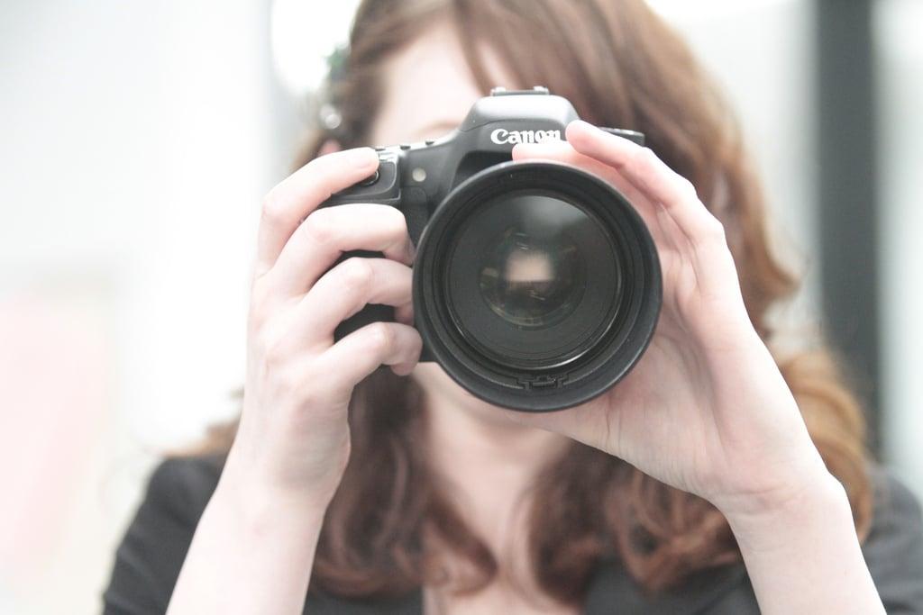 You Take Less Photos