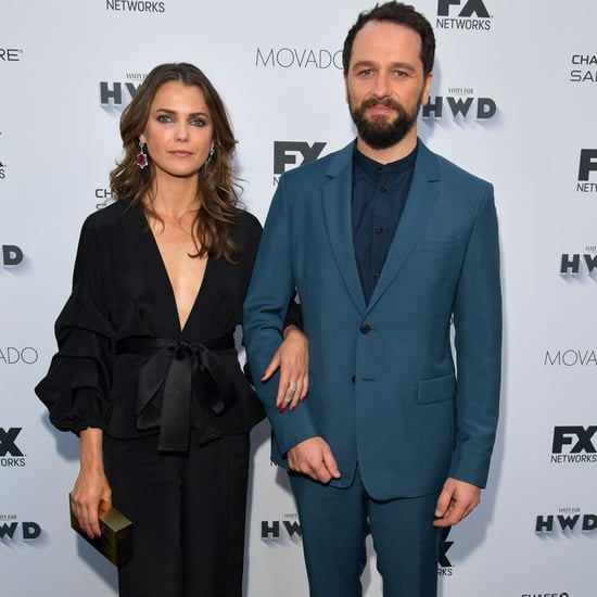 Keri Russell and Matthew Rhys at Pre-Emmys Party 2016