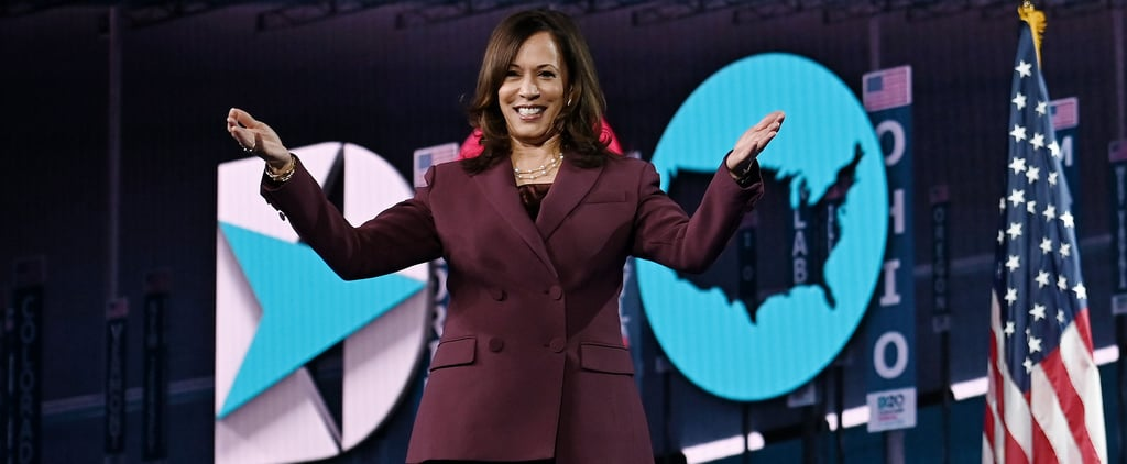 The Meaning Behind Kamala Harris's Plum Pantsuit at the DNC