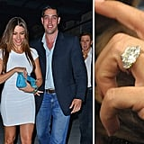 Sofia Vergara received a massive diamond from her boyfriend Nick Loeb just before her 40th birthday in July.
