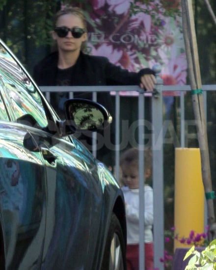 Pictures of Bride to Be Nicole Richie in LA With Daughter Harlow