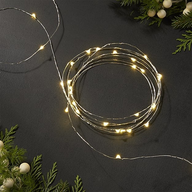 Twinkle Silver String Lights