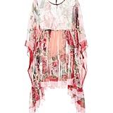 Dolce & Gabbana Floral Silk Chiffon Dress