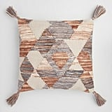 Geometric Desert Woven Indoor Outdoor Throw Pillow