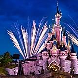 Disneyland Paris Sleeping Beauty Castle Zoom Background