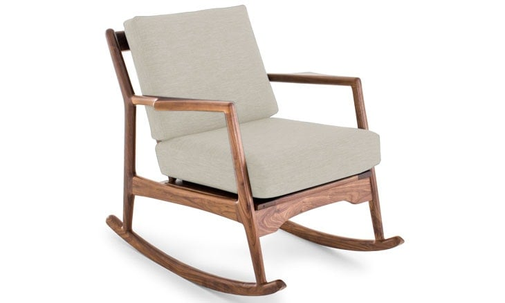 The Collins Rocking Chair From Joybird Furniture