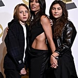 Pictured: Christopher Nicholas Cornell, Vicky Cornell, and Toni Cornell
