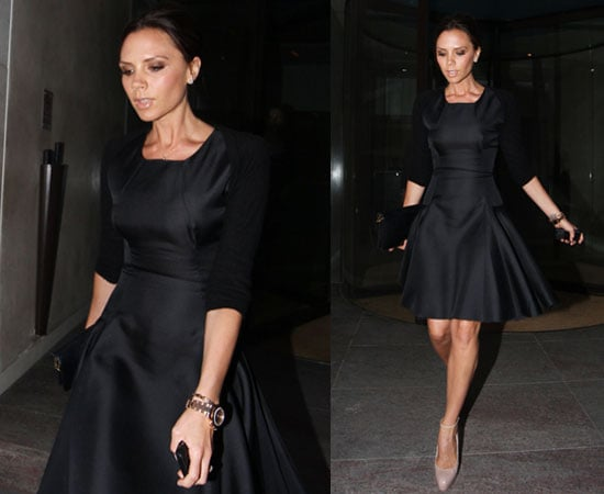 Pictures of Victoria Beckham in London