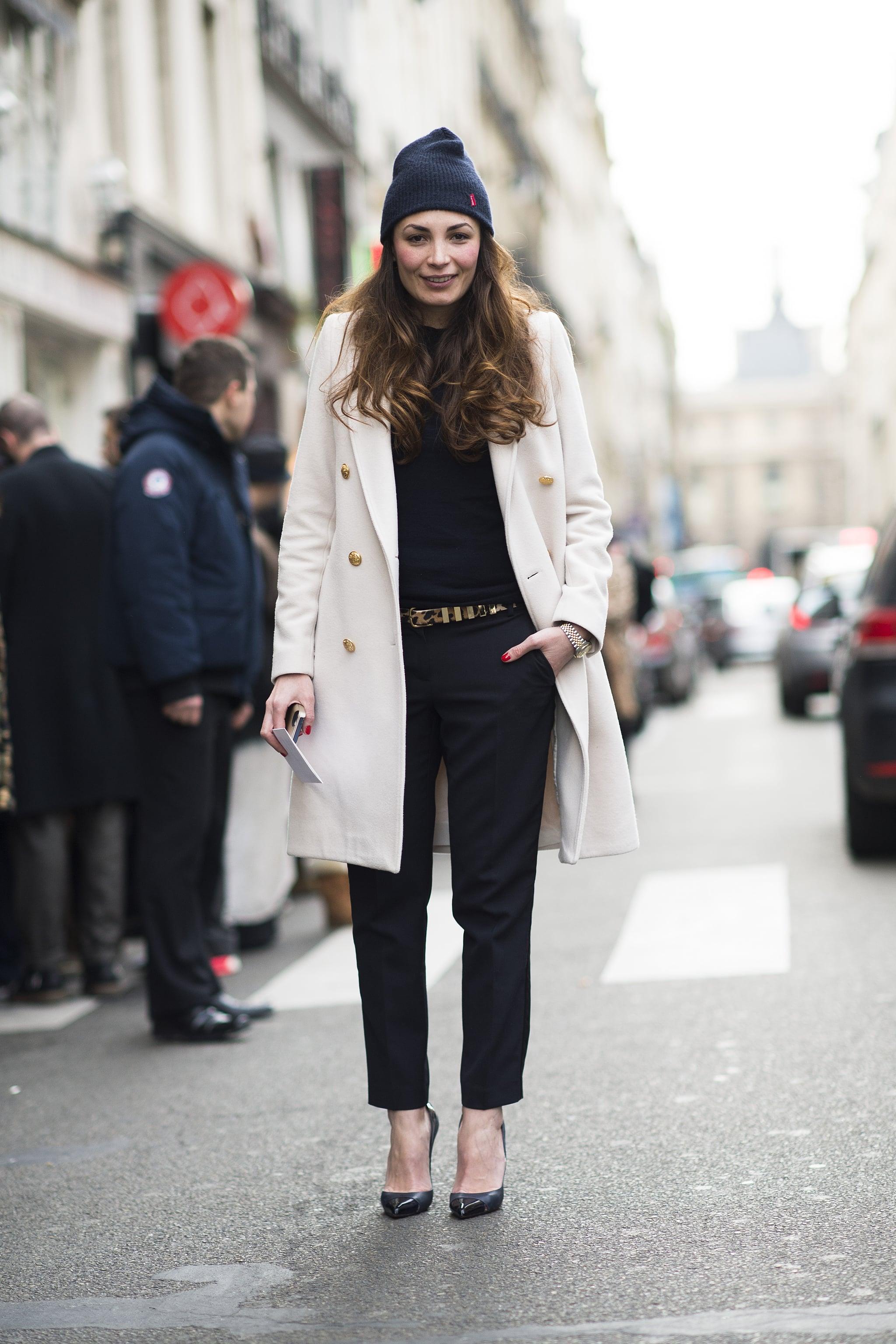 When in doubt, a beanie makes the best accessory. Source: Le 21ème | Adam Katz Sinding