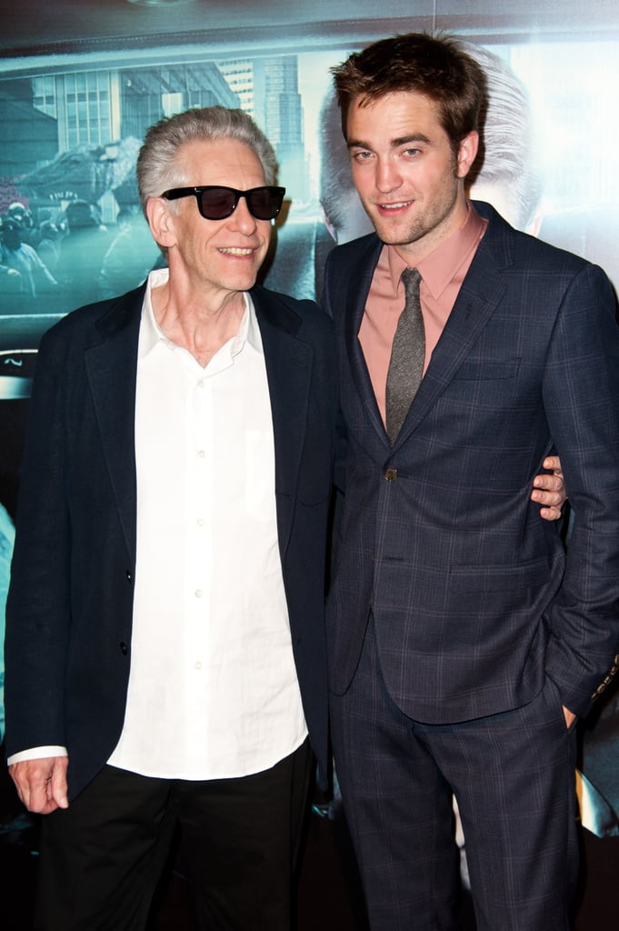 Robert Pattinson and the film's director David Cronenberg got together for a photo.
