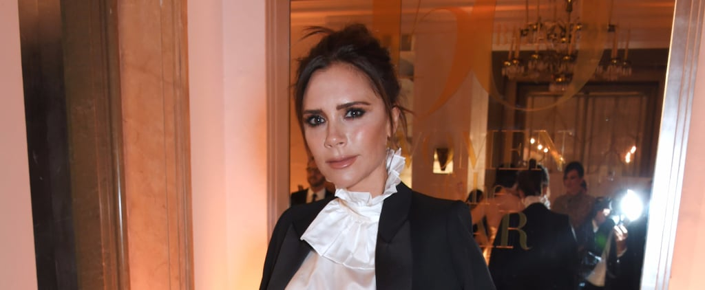 Victoria Beckham Somehow Made Yellow Trousers Look Black-Tie Appropriate