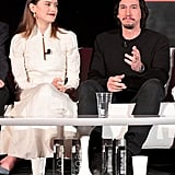 Adam Driver and Daisy Ridley Pictures