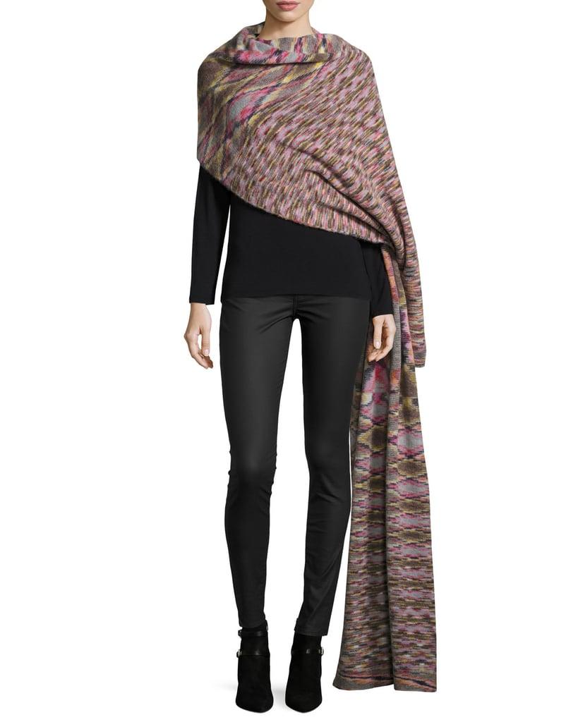 Missoni Printed Runway Blanket Scarf, Multicolor ($1,020)