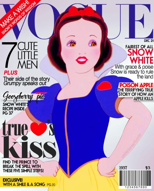 Magazine Cover Snow White