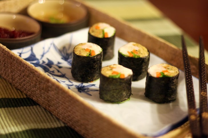 Thanksgiving Sushi Rolls | POPSUGAR Moms