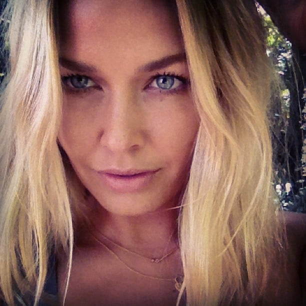 Lara Bingle zoomed in on that gorgeous face of hers. Source: Instagram user mslbingle