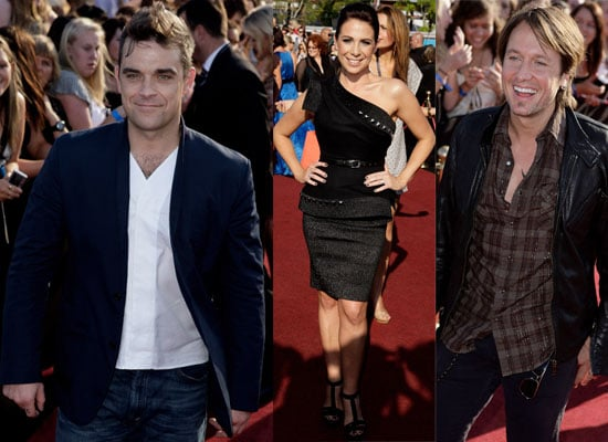 Photos of the ARIAS 2009 Red Carpet including Robbie Williams, Kate Richie, Bindi Irwin and Keith Urban