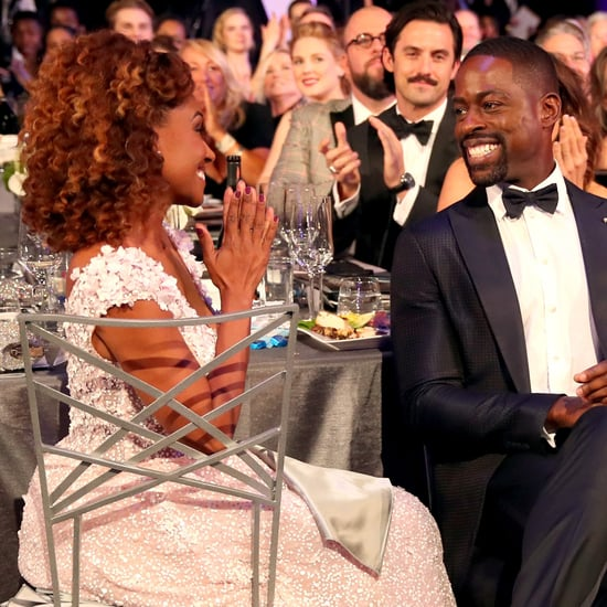 Sterling K. Brown and Ryan Michelle Bathe at 2018 SAG Awards