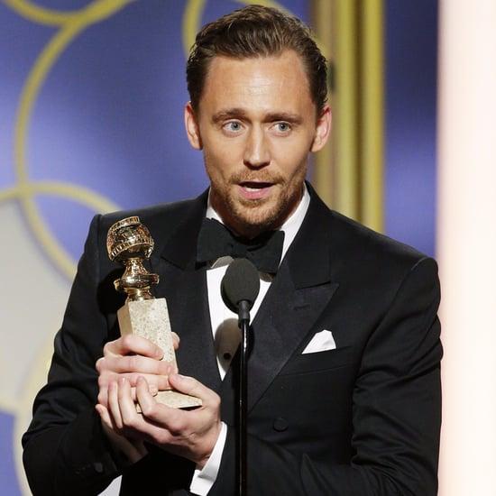 Tom Hiddleston Apologizes For His 2017 Golden Globes Speech