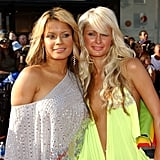 Pictured: Blu Cantrell and Paris Hilton