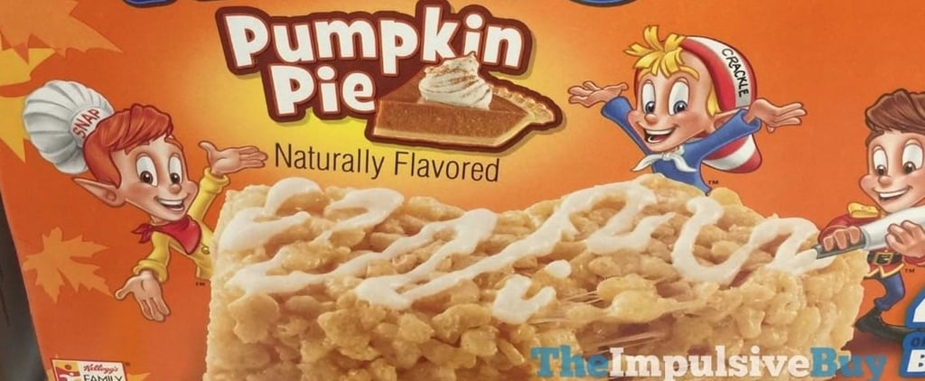 Commence the Freakout: Pumpkin Pie Rice Krispies Treats Are Hitting Shelves!