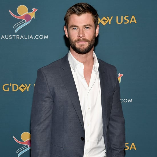 Chris Hemsworth at Virtual Tour of Australia in NYC 2017