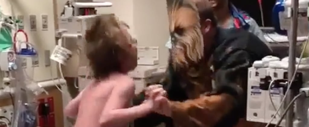 The Sweet Story Behind a Children's Doctor Dressing as Chewbacca to Surprise His Patient