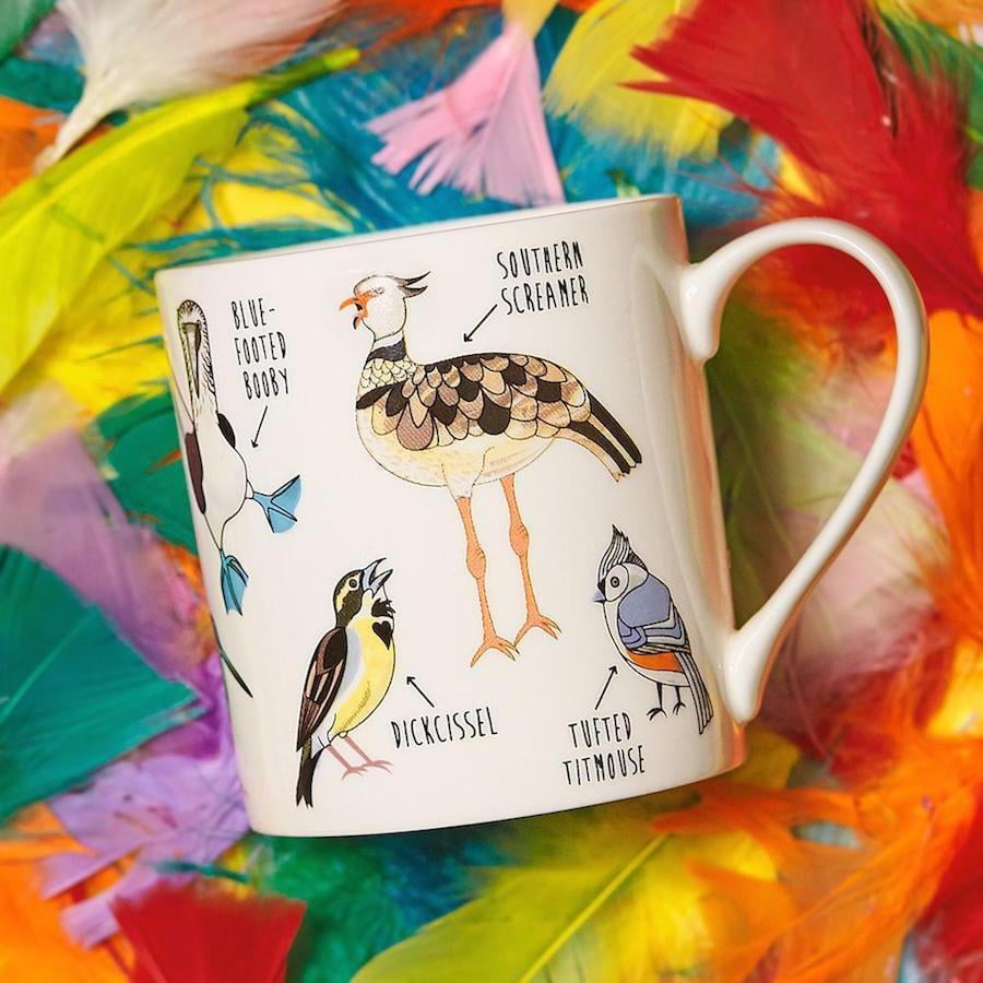 Fowl Language Bird Coffee Mug