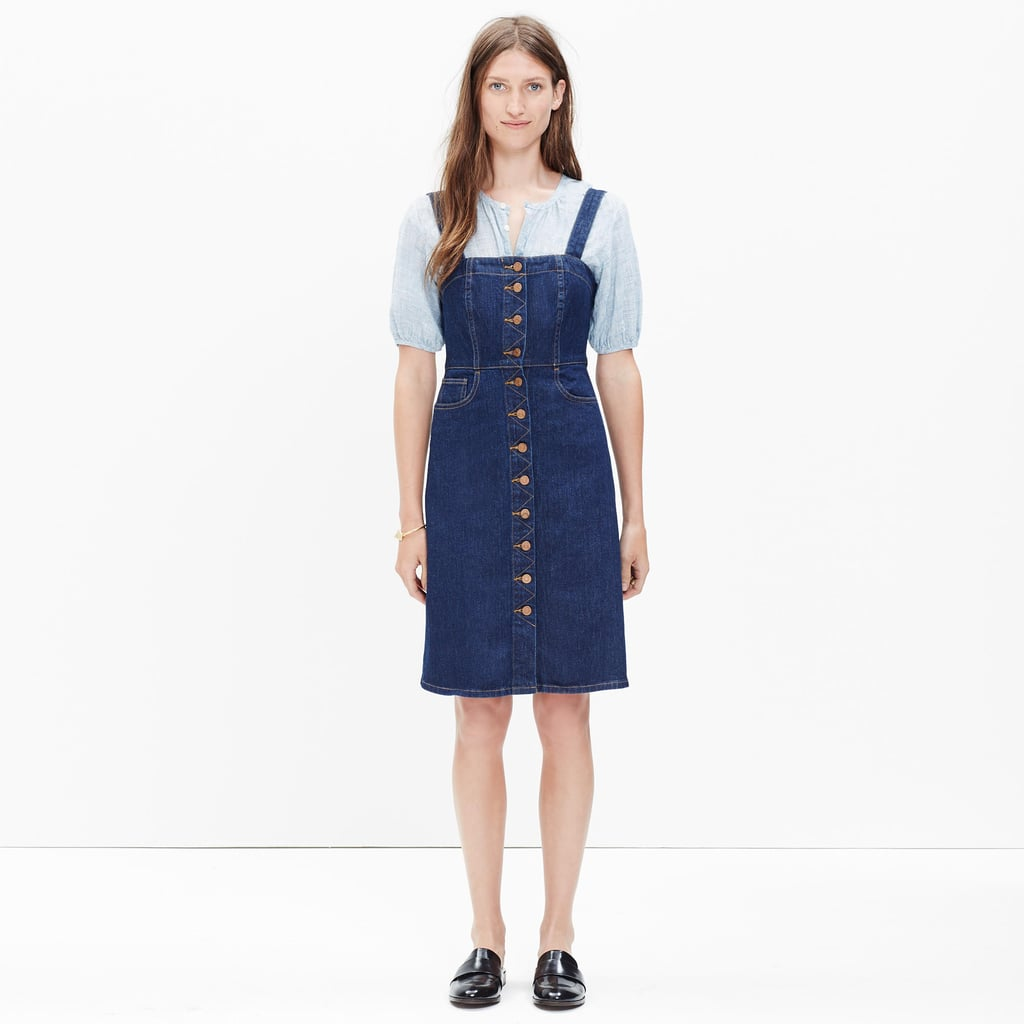 Madewell Denim Overall Dress in Matilda Wash ($128)