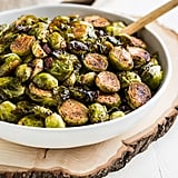 Caramelized Bacon Balsamic Brussels Sprouts