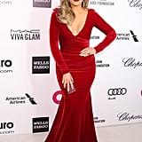 Khloé at the Elton John Oscars Party in 2014