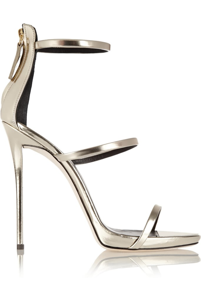 Between weddings, Fashion Week, and the Winter holidays (which will probably be here before we know it), it's about time I invested in a chic silver shoe to go with everything. These strappy ones from Giuseppe Zanotti ($845) are not cheap, but they're bound to last for many years — and weddings and Fashion Weeks and holidays — to come.  — SS