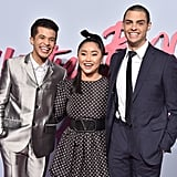 Jordan Fisher, Lana Condor, and Noah Centineo at the P.S. I Still Love You Premiere in LA