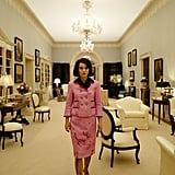 Watch a video to learn about the blood stains Jackie Kennedy refused to wash.