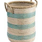 Small Striped Hamper