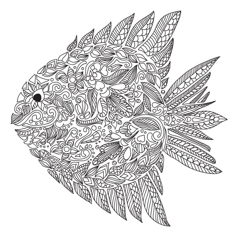 Get The Coloring Page Paisley Free Colouring Pages For Adults