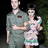 Zelda Williams wore a spooky outfit, and Jackson Heywood paid homage to Top Gun.