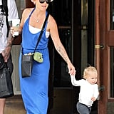 Pink and her daughter Willow Hart ventured to NYC together in July 2012.