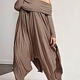 Forever 21 Off-the-Shoulder Draped Dress