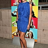 Lea Michele sported a bright blue Wren mini in 2009.