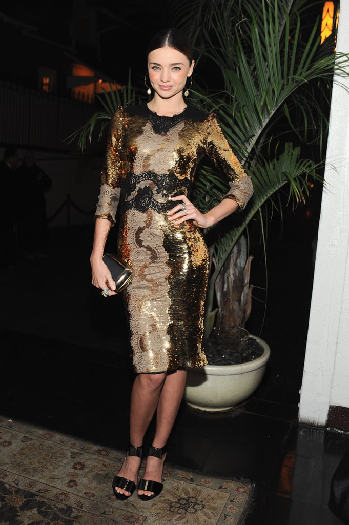 January 2013: Dom Perignon & W Magazine Golden Globes Party