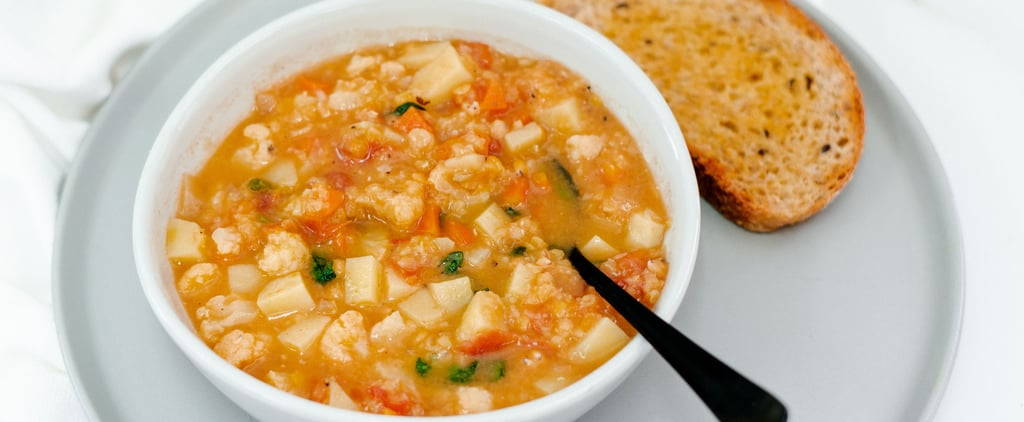 Healthy Red Lentil Minestrone Recipe