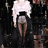 As Was Alessandra Ambrosio, Who Went Blond and Wore Sheer Lace Pants