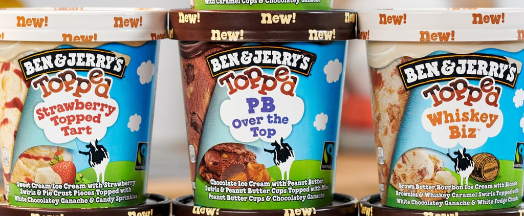 Ben & Jerry's 7 New Topped Ice Cream Flavors   Photos