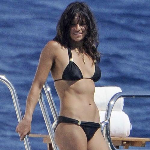 Michelle Rodriguez in a Bikini in Sardinia 2014 | Pictures