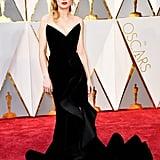 Brie Larson Oscar de la Renta Dress at the Oscars 2017