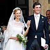 Prince Amedeo of Belgium and Elisabetta Maria Rosboch von Wolkenstein