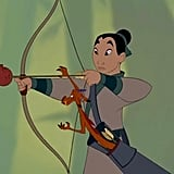 Mulan and Princess Tiana are the only left-handed princesses.